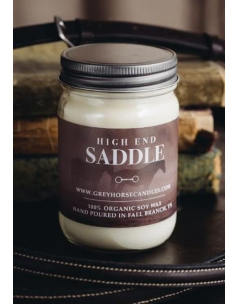 Grey Horse Candle Company High End Saddle Candle