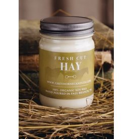 Grey Horse Candle Company Grey Horse Candle Co. - Fresh Cut Hay Candle