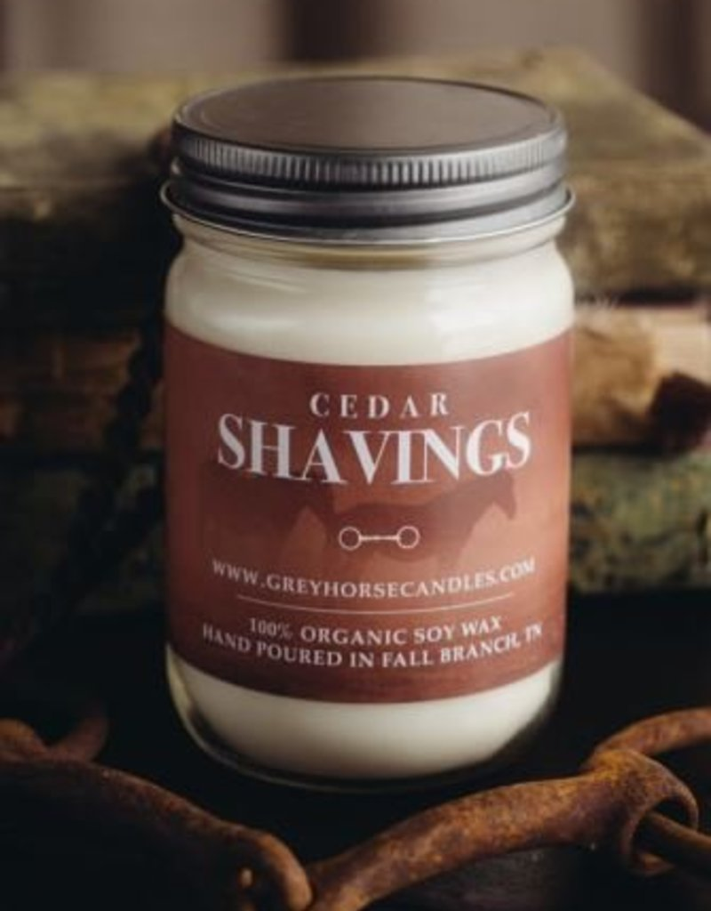 Grey Horse Candle Company Cedar Shavings Candle
