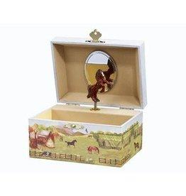 Breyer Country Horse Musical Treasure Box