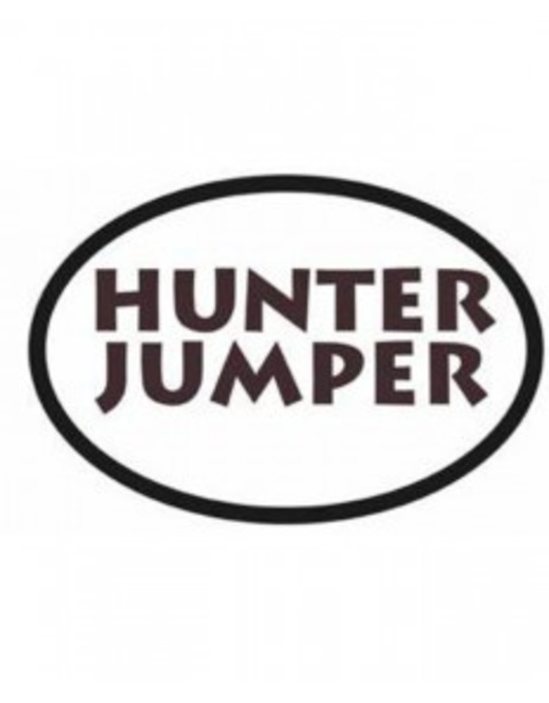 Equestrian Bumper Stickers - Hunter Jumper