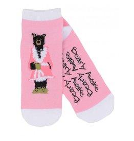 Hatley Hatley Ladies Bearly Awake No-Slip Ankle Socks
