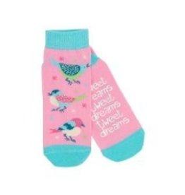 Hatley Hatley Ladies Tweet Dreams No-Slip Ankle Socks