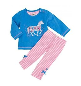 Hatley Hatley Infant Girl's Long Sleeve Tee & Legging Set