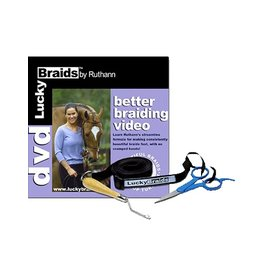 Lucky Braids Lucky Braids Better Braiding DVD/Tools
