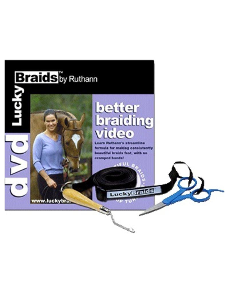 Lucky Braids Lucky Braids Better Braiding DVD/Tools