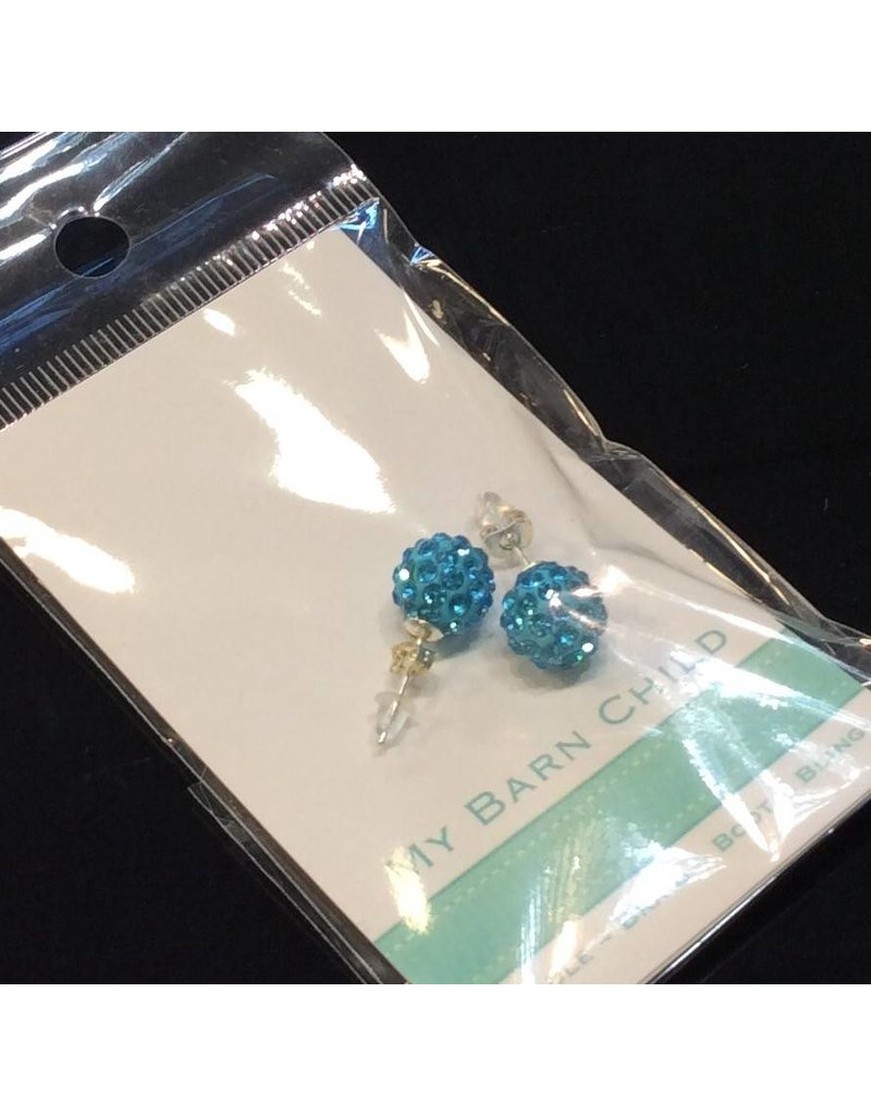 My Barn Child My Barn Child Bling Earrings - Turquoise
