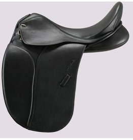 Santa Cruz Arthur Dressage Saddle 17.5 M Black