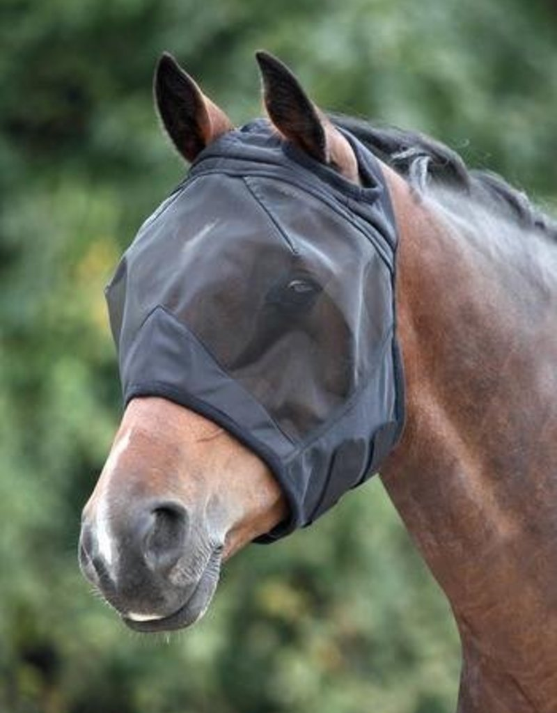 Shires Shires Fly Mask Without Ears Black