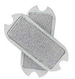 Stirrup Pad Sand Paper White