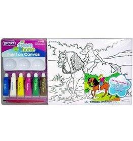 Breyer Breyer My Dream Horse Paint On Canvas - Morgan