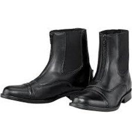 Tuff Rider Ladies Zip Paddock Boots