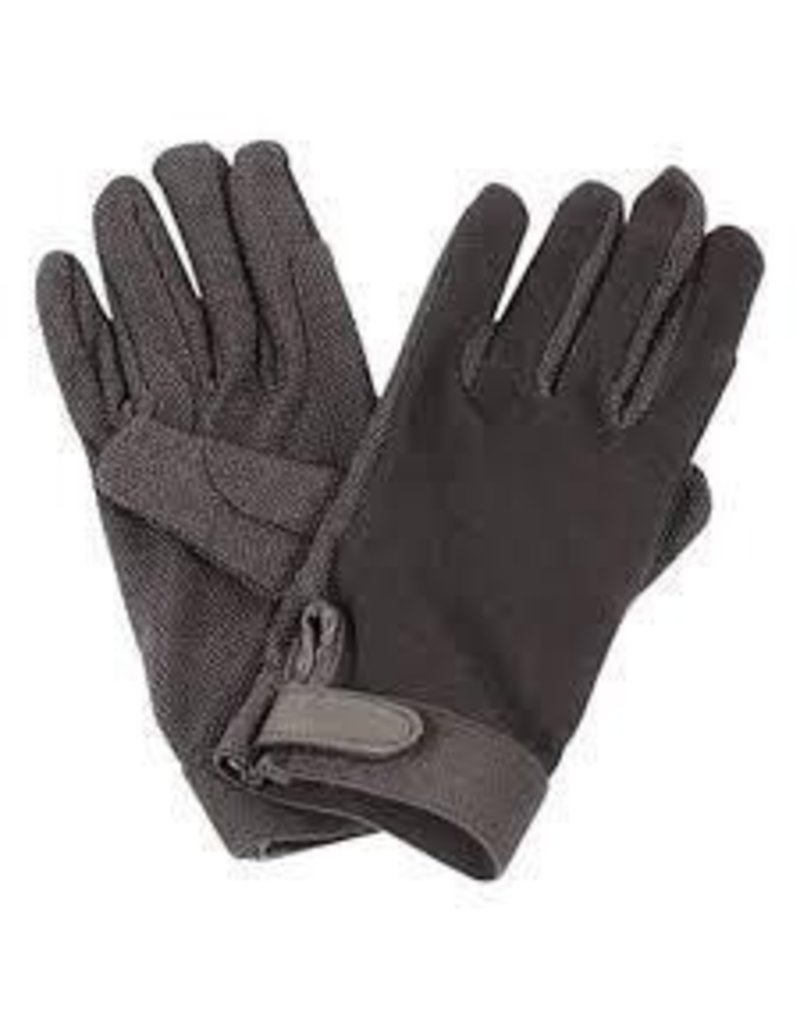 Cotton Pimple Riding Gloves