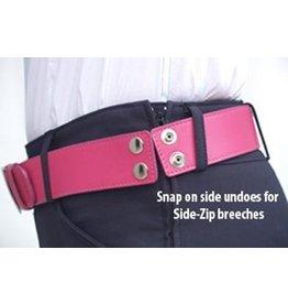 Cheval Side Zip Belt