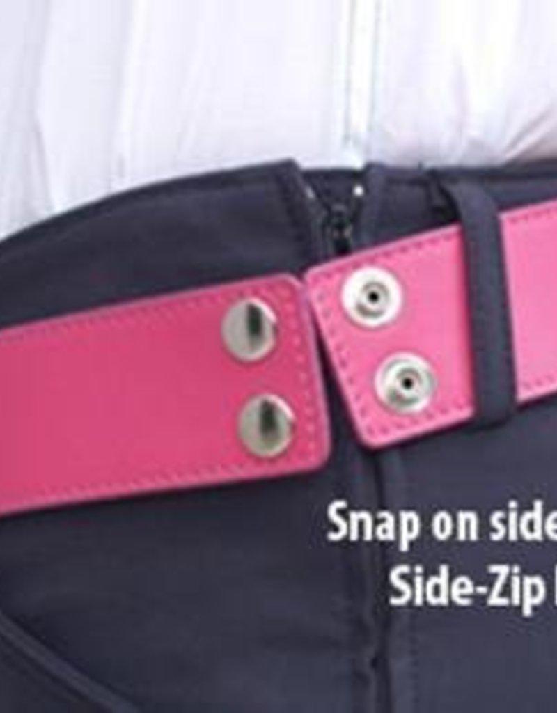 Side Zip Belt