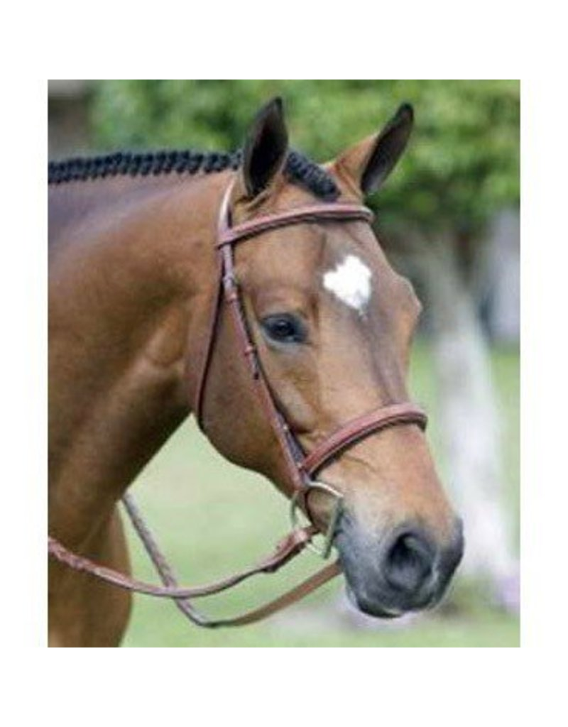 Exselle Bromont Wide Nose Monocrown Hunter Bridle