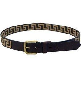 Greek Leather Belt