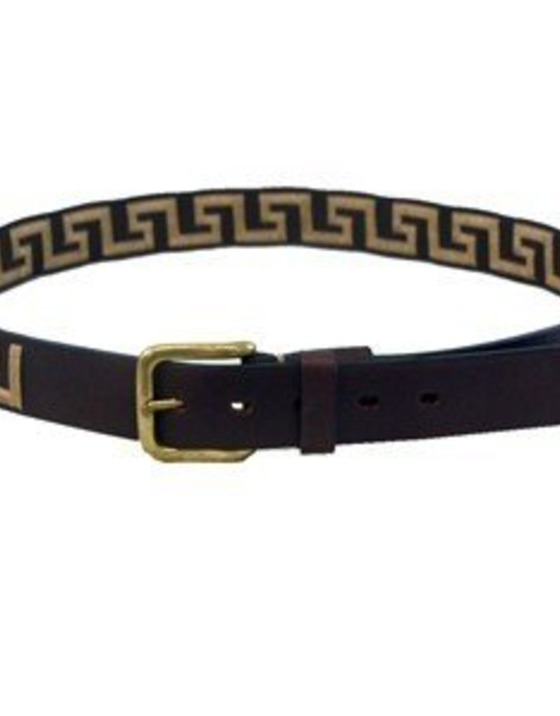 Greek Leather Belt
