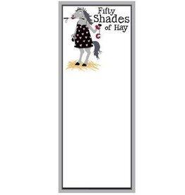 Hatley Hatley Fifty Shades of Hay Magnetic Notepad