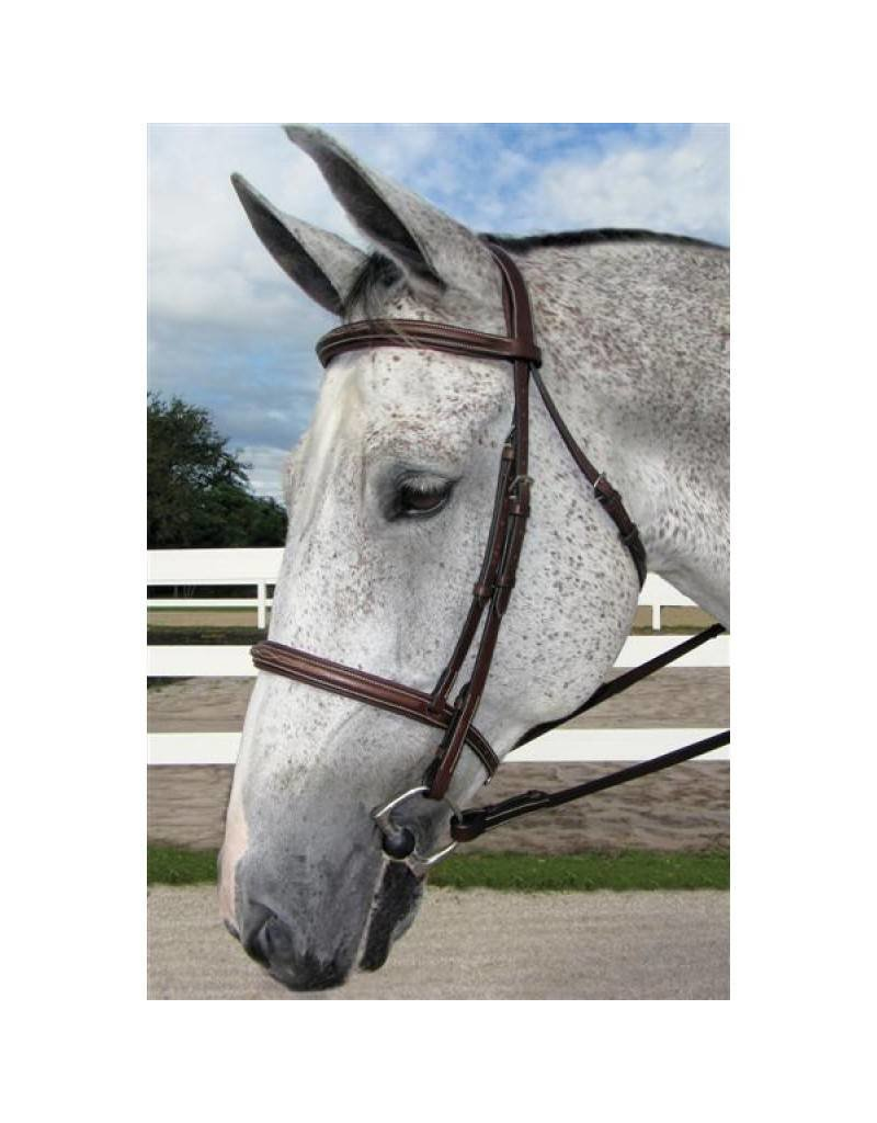 HDR Padded Fancy Stitched Hunter Bridle