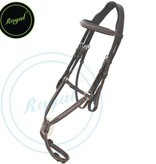 Royal Fancy Raised Figure 8 Bridle with Rubber Reins