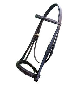 Royal Royal Fancy Stitch Padded Hunter Bridle with Laced Reins
