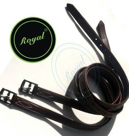 Royal Royal Fancy Triple Covered Stirrup Leather