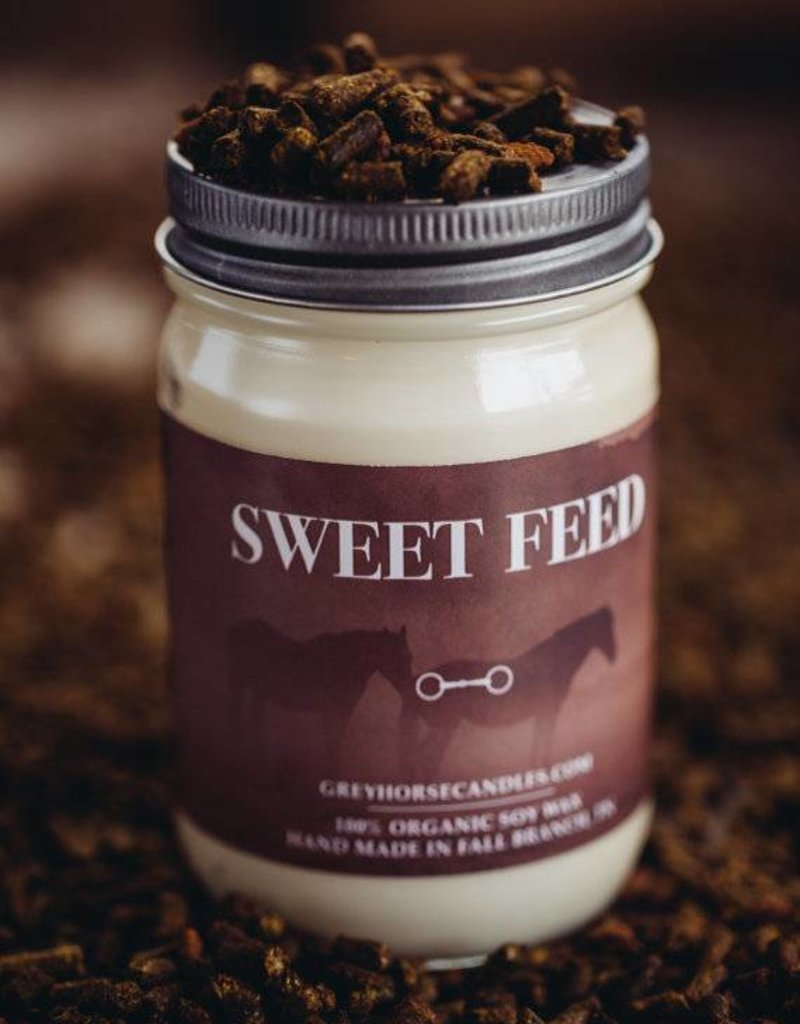 Grey Horse Candle Company Sweet Feed Candle