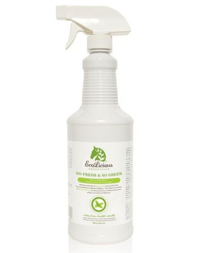 ecolicious so fresh and so green equine body spray willow equestrian