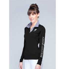 Asmar Asmar Classic Long Sleeve Polo Screen Logo