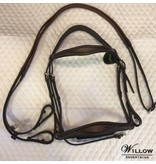 Royal Anatomical Fancy Stitched Bridle With Rubber Reins