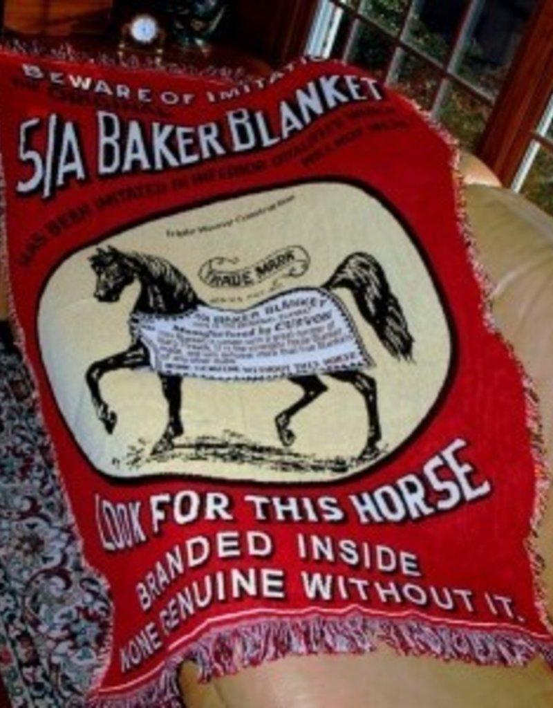 Baker Baker Afghan Throw