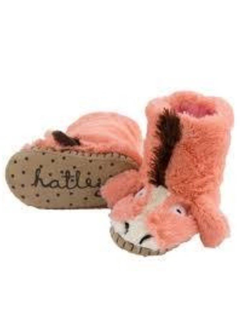 Hatley Hatley Kids Pink Horse Slippers