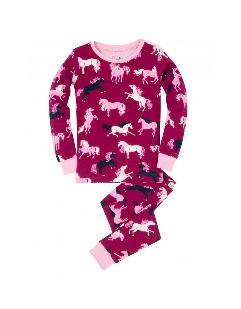 Hatley Hatley Fairy Tale Horses Pajama Set