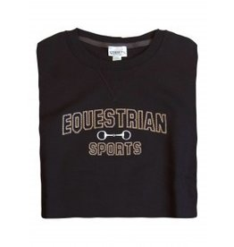 Stirrups Stirrups Ladies 'Equestrian Sports' Sweatshirt Black