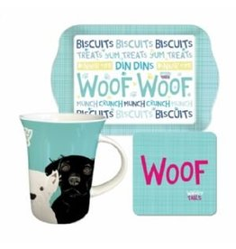 Dogs Woof Tea Time Set
