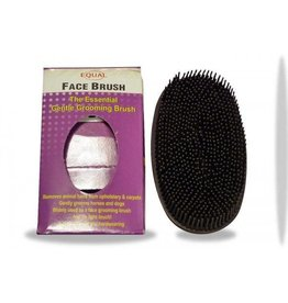 Rubber Oval Face Brush