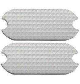 Fillis White Stirrup Pad