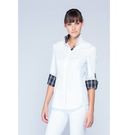 Asmar Lexington Show Shirt White/Black White