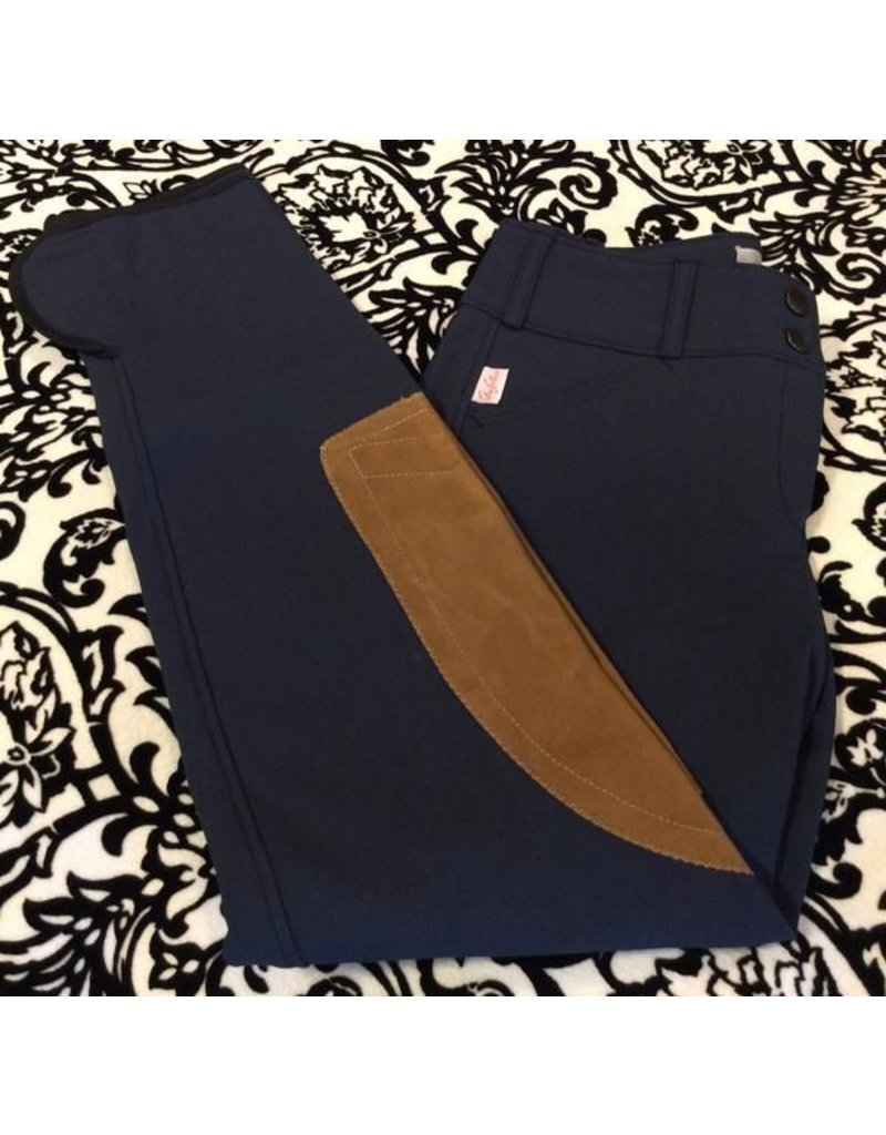 Tailored Sportsman LR FZ Breech Black & Blue/Tan