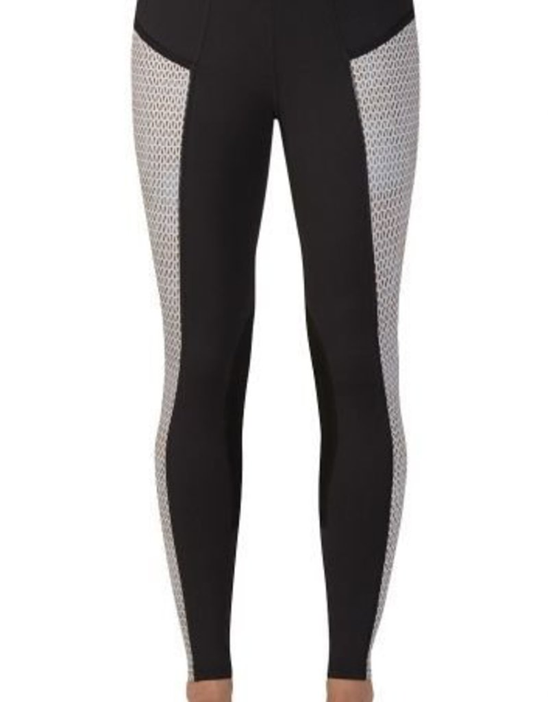 Kerrits Pocket Performance Tight Graphite Carrot
