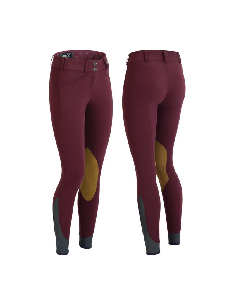 Tredstep Hunter Pro Ladies Breech Carmine