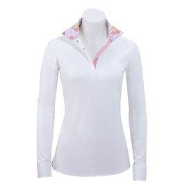 RJ Classics RJ Classics Rebecca Floral Show Shirt White