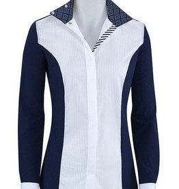 RJ Classics RJ Classics Windsor Diamond Show Shirt Navy