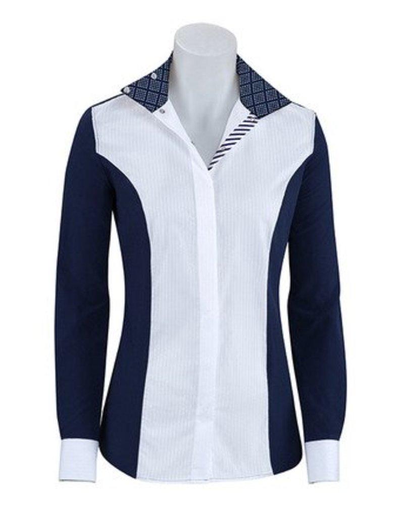 RJ Classics RJ Classics Windsor Diamond Show Shirt Navy