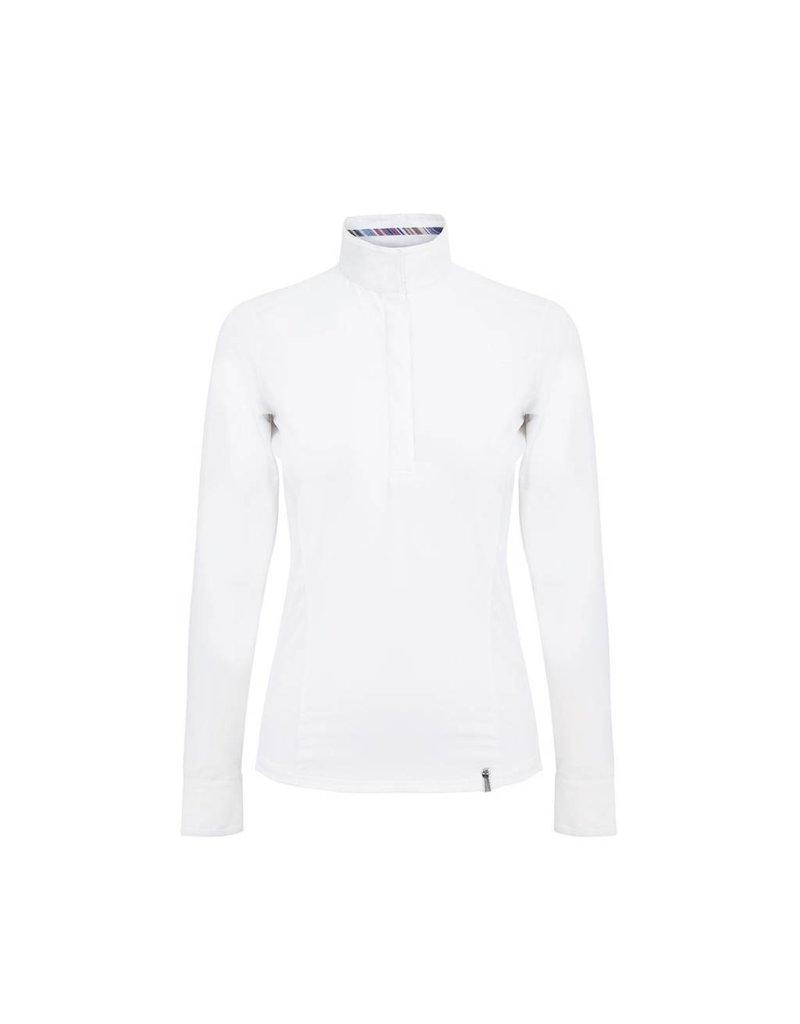 Tredstep Symphony LS Show Shirt White