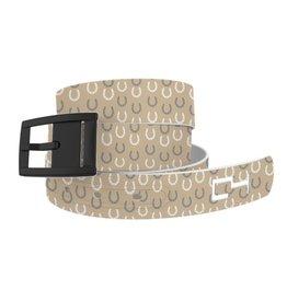 C4 Belts C4 Belt Tan Horseshoes