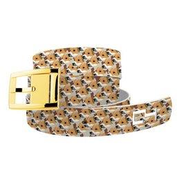 C4 Belts C4 Belt Jack Russel Dog Heads