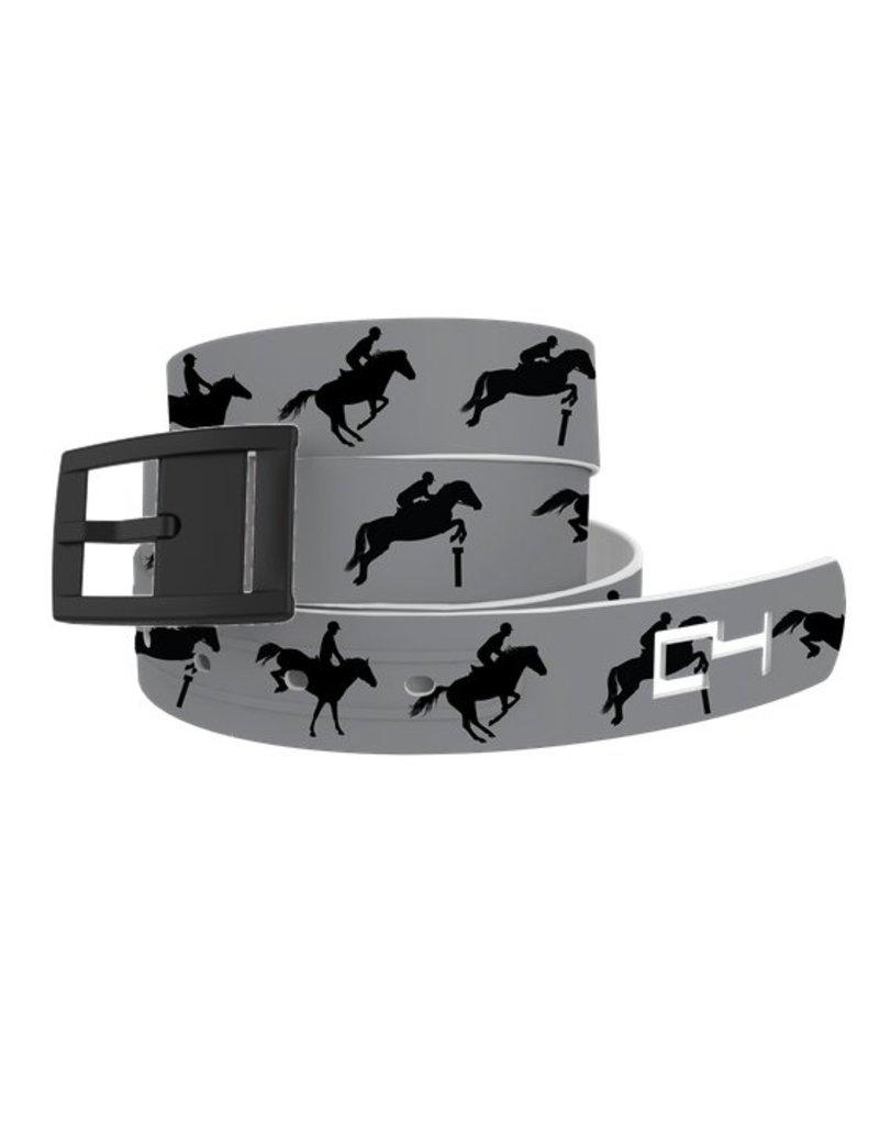 C4 Belts C4 Belt Grey Jump