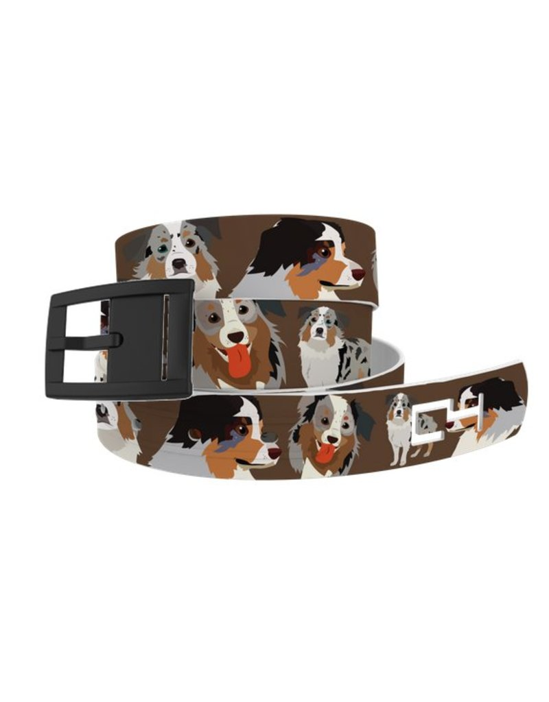 C4 Belts C4 Belt Aussie Dog